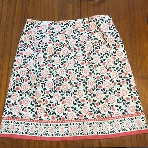 Harold's Tulip Print Skirt Women's 8
